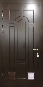 Входная дверь КВ234 вид внутри