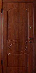 Входная дверь КВ126 вид внутри