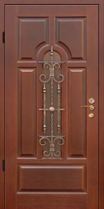 Бронированная дверь Б32 вид внутри