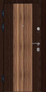 Готовая дверь ГД12 вид внутри
