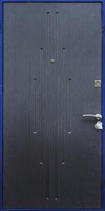 Входная дверь ТР169 вид внутри