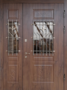 Входная дверь М268 вид снаружи