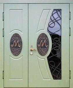 Входная дверь М273 вид снаружи