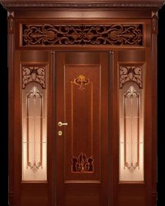 Входная дверь М290 вид снаружи
