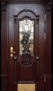 Входная дверь М287 вид снаружи
