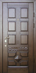 Входная дверь КТ58 вид снаружи