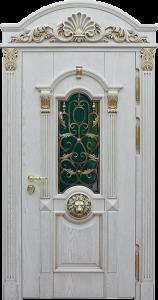 Входная дверь в дом М293 вид снаружи