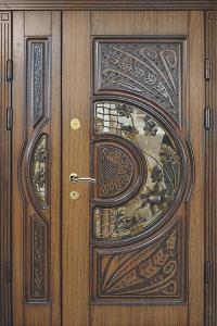 Входная дверь М296 вид снаружи
