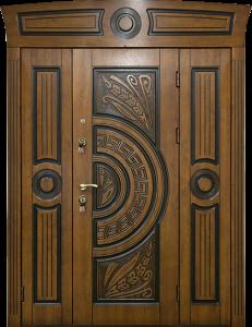 Входная дверь М299 вид снаружи