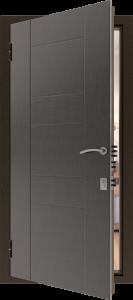 Входная дверь КВ93 вид внутри