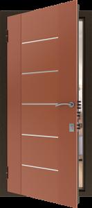 Входная дверь КВ90 вид внутри