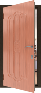 Усиленная дверь У16 вид внутри