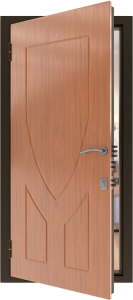 Усиленная дверь У18 вид внутри