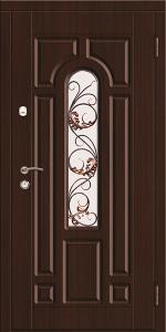 Входная дверь КТ6 вид снаружи