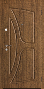 Входная дверь КТ15 вид снаружи