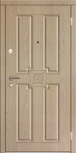 Входная дверь КТ16 вид снаружи