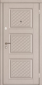 Входная дверь КТ27 вид снаружи