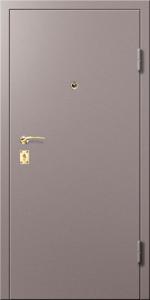 Входная дверь ТР185 в коттедж вид снаружи