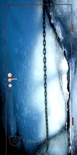 Входная дверь ФП14 — фото 1