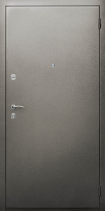 Квартирная входная дверь КВ3 вид снаружи