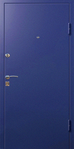 Бронированная дверь Б17 вид снаружи
