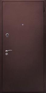 Входная дверь КВ247 в загородный дом вид снаружи
