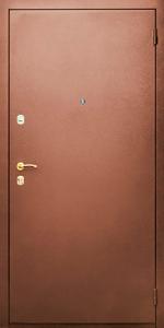Входная дверь КВ4 вид снаружи