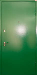 Бронированная дверь Б44 вид снаружи