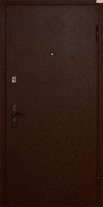 Входная дверь КВ153 вид снаружи