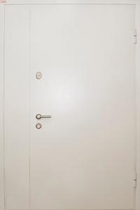Глухая противопожарная дверь ДМП 02 №24 вид снаружи