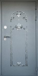 Готовая дверь ГД75 вид снаружи