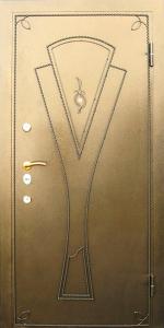 Усиленная дверь У14 вид снаружи