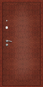 Тамбурная дверь Т77 вид снаружи