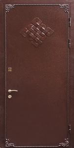 Бронированная дверь Б54 вид снаружи