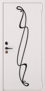 Бронированная дверь Б56 вид снаружи