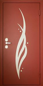 Бронированная дверь Б58 вид снаружи
