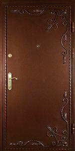 Готовая дверь ГД24 вид снаружи