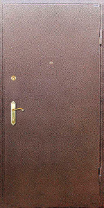 Тамбурная дверь Т115 вид снаружи