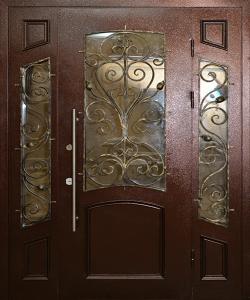 Тамбурная дверь Т95 вид снаружи