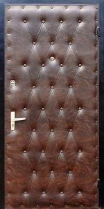 Входная дверь КВ31 вид снаружи