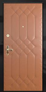 Входная дверь КВ32 вид снаружи