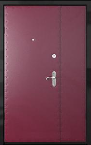 Бронированная дверь Б48 вид внутри