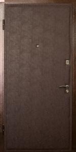 Тамбурная дверь Т3 вид внутри