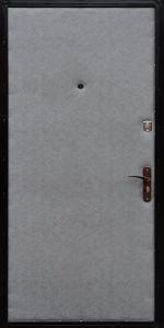 Тамбурная дверь Т119 вид внутри
