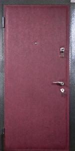 Тамбурная дверь Т118 вид внутри
