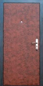 Тамбурная дверь Т125 вид внутри
