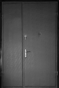 Тамбурная дверь Т75 вид снаружи