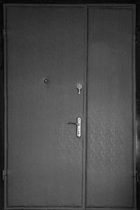 Тамбурная дверь Т121 вид внутри