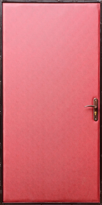 Входная дверь КВ183 вид внутри