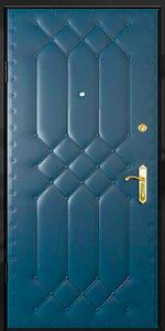 Бронированная дверь Б45 вид внутри